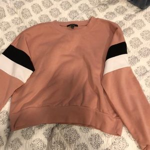 Pink Forever21 crew neck